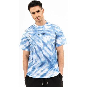 Vêtements Homme T-shirts manches courtes Sixth June T-shirt  tie dye bleu