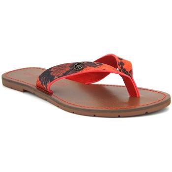 Chaussures Femme Tongs Chattawak Tango Rouge