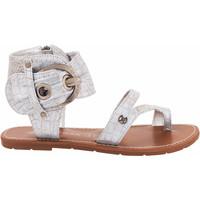 Chaussures Femme Sandales et Nu-pieds Chattawak Sandales11.S  Pensée argent Argenté