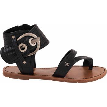 Chaussures Femme Sandales et Nu-pieds Chattawak sandale 11.S  Pensée noir Noir