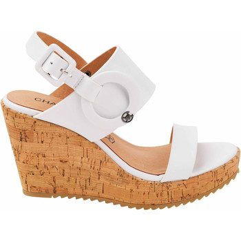 Chaussures Femme Brett & Sons Chattawak compensées Claudia blanche Blanc