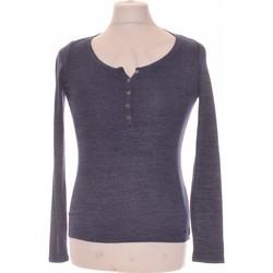 Vêtements Homme T-shirts manches longues Hollister T-shirt Manches Longues  40 - T3 - L Bleu