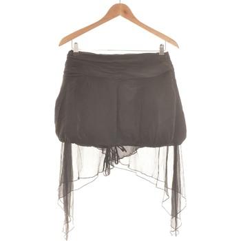 Vêtements Femme Jupes Sisley Jupe Mi Longue  36 - T1 - S Noir