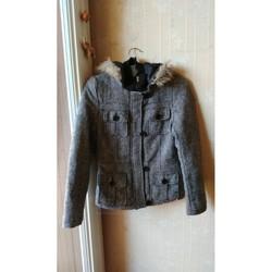 Vêtements Femme Vestes / Blazers Sans marque Veste/manteau Vert de Rage, Taille L Multicolore