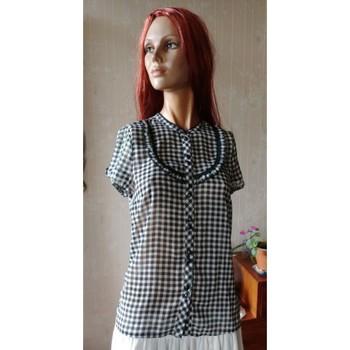 Vêtements Femme Chemises / Chemisiers Sans marque Chemise à carreaux H&M, Taille 36 Multicolore