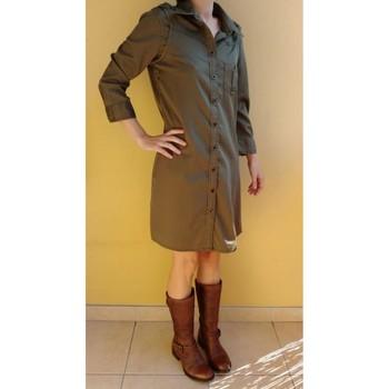 Vêtements Femme Robes courtes Mexx Robe Mexx, Taille 36-38 Kaki