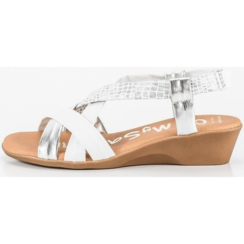 Chaussures Femme Back To School Ohmysandals 4823 blanc