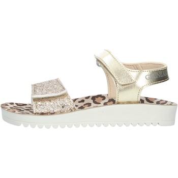 Chaussures Fille Sandales et Nu-pieds Grunland GRIS SA2570 SANDALS enfant PLATINE PLATINE