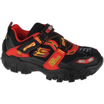 Chaussures Enfant Randonnée Skechers Damager III-Fire Stopper Noir