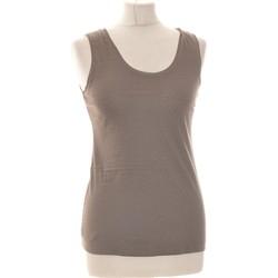 Vêtements Femme Débardeurs / T-shirts sans manche Banana Republic Débardeur  34 - T0 - Xs Gris