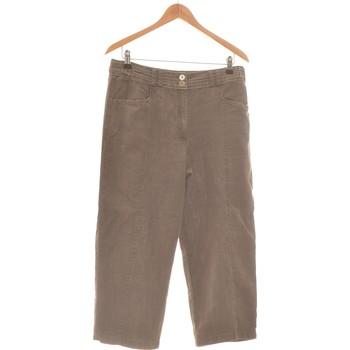 Vêtements Homme Pantalons Burton Pantalon Droit Homme  40 - T3 - L Marron