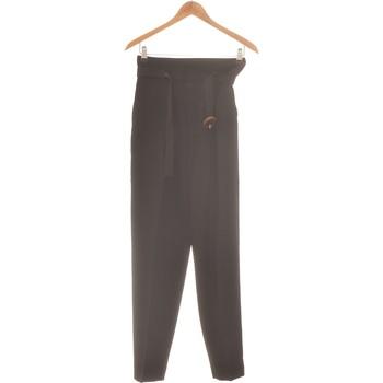Vêtements Femme Pantalons Mango Pantalon Droit Femme  36 - T1 - S Noir