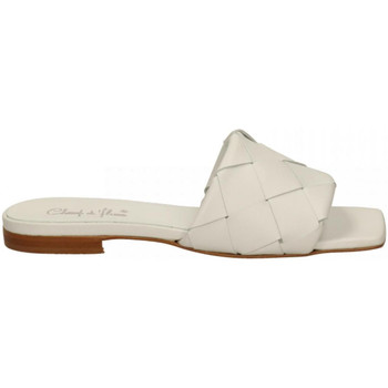 Chaussures Femme Mocassins Champ De Fleurs NAPPA bianco