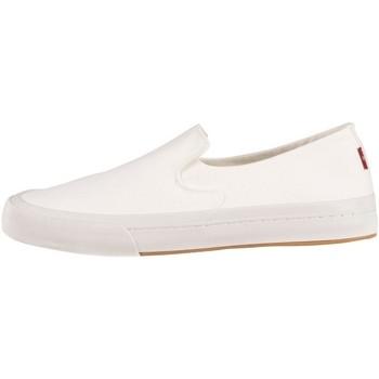 Chaussures Femme Slip ons Levi's SUMMIT SLIP ON S Blanc