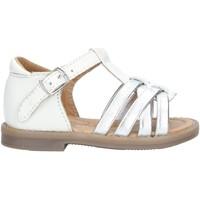 Chaussures Fille Sandales et Nu-pieds Grunland PS0151 SANDALS enfant BLANC BLANC