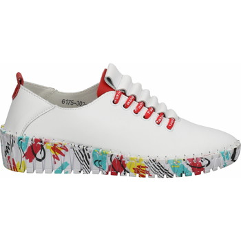Chaussures Femme Baskets basses Cosmos Comfort Sneaker Weiß/Rot