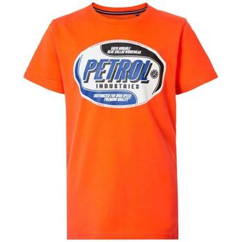 Vêtements Enfant T-shirts manches courtes Petrol Industries TSR601 2015 SPICED ORANGE J Orange