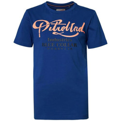 Vêtements Enfant T-shirts manches courtes Petrol Industries TSR600 5093 IMPERIAL BLUE J Bleu