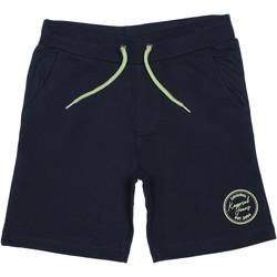 Vêtements Garçon Shorts / Bermudas Kaporal Short garçon taille élastique Bleu