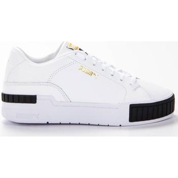 Chaussures Femme Baskets basses Puma cali sport clean wn's Blanc