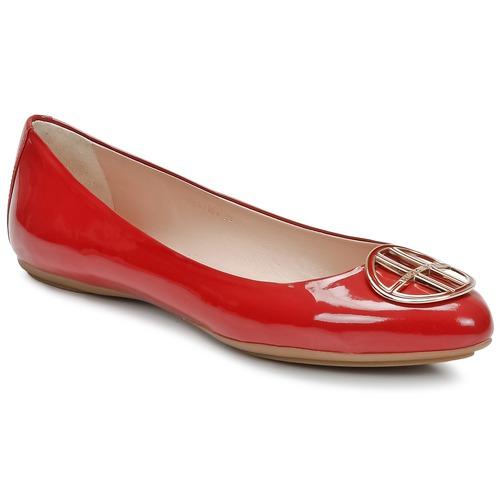 Chaussures Femme Ballerines / babies Hugo Boss Black LISETTE Rouge