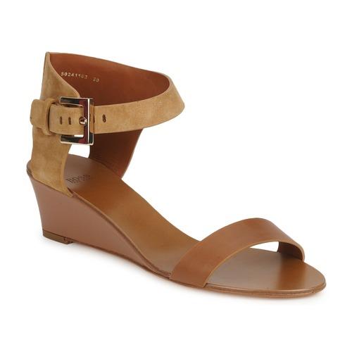 Chaussures Femme Sandales et Nu-pieds Hugo Boss Black SAFFY Marron