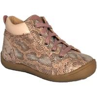 Chaussures Fille Baskets montantes Noel Mikid Rose imprimé