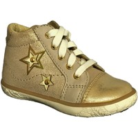 Chaussures Fille Baskets montantes Noel Mini Alt Or