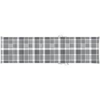 Maison & Déco Galettes de chaise VidaXL Coussin de chaise longue 200 x 50 x 4 cm Multicolore