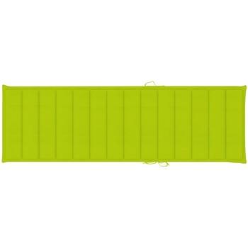 Maison & Déco Galettes de chaise VidaXL Coussin de chaise longue 200 x 70 x 4 cm Vert