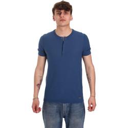 Vêtements Homme T-shirts manches courtes Gaudi 011BU53007 Bleu