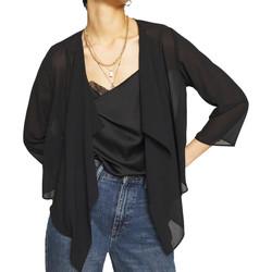 Vêtements Femme Gilets / Cardigans Vila 14061612 Noir