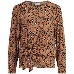 Vêtements Femme Tops / Blouses Vila 14063400 Marron