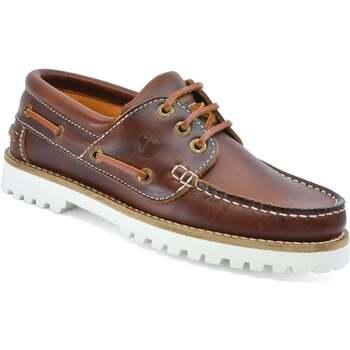 Chaussures Femme Chaussures bateau Seajure Chaussures Bateau Alankuda Marron