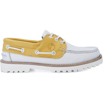 Chaussures Femme Chaussures bateau Seajure Chaussures Bateau Quirimbas Jaune et blanc