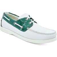 Chaussures Femme Chaussures bateau Seajure Chaussures Bateau Gidaki Vert et blanc