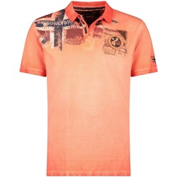 Vêtements Homme Polos manches courtes Geographical Norway Polo Homme Kamo 415EO Orange