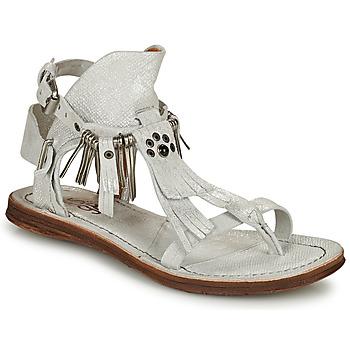 Chaussures Femme Sandales et Nu-pieds Airstep / A.S.98 RAMOS Blanc / Irisé