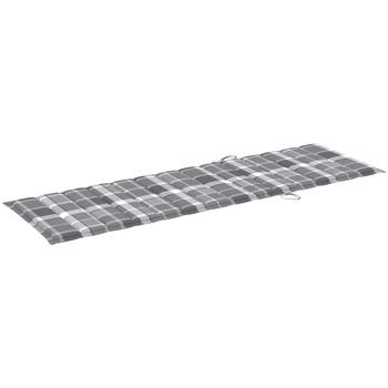 Maison & Déco Galettes de chaise VidaXL Coussin de chaise longue 200 x 60 x 4 cm Multicolore