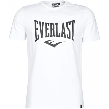 Vêtements Homme en rejoignant notre panel Everlast Tee Shirt 807580-60 Blanc Blanc