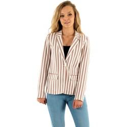 Vêtements Femme Vestes / Blazers Only nico-evette almondine beige