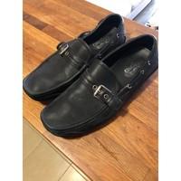 Chaussures Homme Mocassins Bons baisers de Paname Mocassins en cuir de veau Salvatore Ferragamo taille 45 Autres