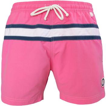 Vêtements Homme Maillots / Shorts de bain Les Loulous De La Plage Short de bain homme JAZZ Rose