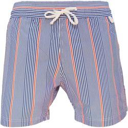 Vêtements Homme Maillots / Shorts de bain Les Loulous De La Plage Short de bain homme MONTAUK Stripes Bleu