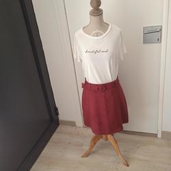 Vêtements Femme Jupes Cache Cache Jupe cache cache Taille 36 Bordeaux
