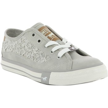 Chaussures Femme Baskets basses Mustang 1146-303 Gris perle
