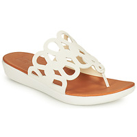 Chaussures Femme Tongs FitFlop ELODIE Blanc