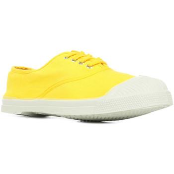 Chaussures Femme Tennis Bensimon Tennis Lacet jaune