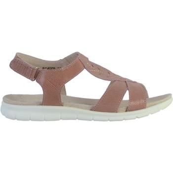 Chaussures Femme Sandales et Nu-pieds Enza Nucci Sandale Cuir Nude