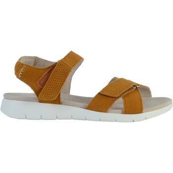 Chaussures Femme Sandales et Nu-pieds Enza Nucci Sandale Cuir Jaune